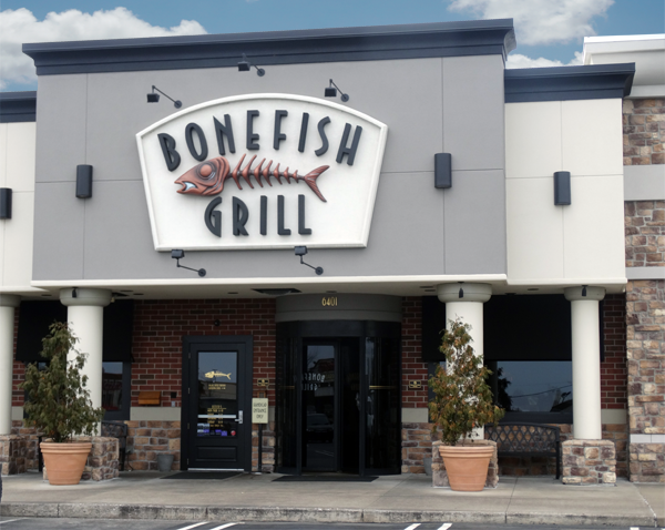 Bonefish Grill for a fun and entertaining evening
