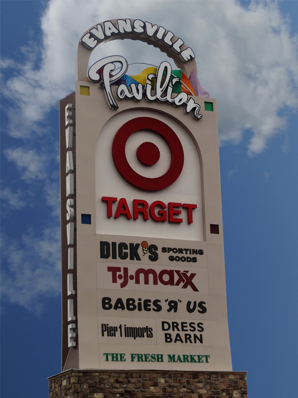 Target, TJ Max and many more great shopping destinations